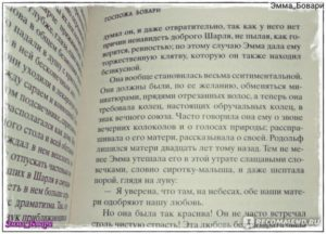 Госпожа Бовари характеристика образа Эммы Бовари