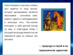 Краткое содержание Бежин луг Тургенева И.С.