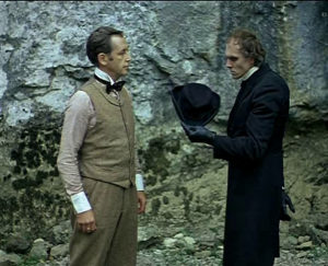 Приключения Шерлока Холмса характеристика образа Мориарти