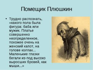 Мертвые души характеристика образа Плюшкин Степан