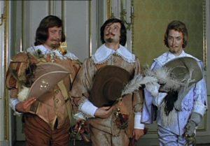 Три мушкетера характеристика образов Атоса, Портоса и Арамиса