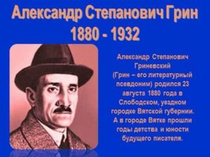 Биография Грина Александра Степановича