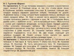 Краткое содержание Бирюк Тургенева И.С.