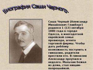 Биография Черного С.