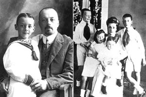 Детство и юность Набокова В.В,